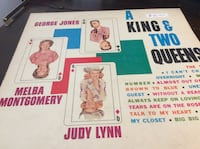 JUST REDUCED Vinyl Record A King & Two Queens record Rockville