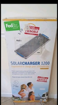 Solar charger usable for camping Burlington, 08016