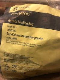 Gravity feeding bags 1000ml- have 7 packages   2338 mi