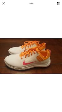 Brand new Nike FI Impact 2 Women's Golf Shoes Size 10 White/Pink/Orange Upper Darby, 19082