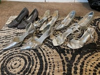 Silver/grey/metallic heels on sale!! Price negotiable  Salisbury, 21804