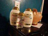 OGX Coconut Miracle Oil Shampoo, Conditioner and Westbury