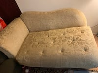 brown floral fabric 3-seat sofa San Diego, 92128