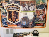 4 Piece SF Giants Collection - see pictures Santa Rosa, 95404