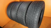 265/70R17 NITTO TERRA GRAPPLER 265/70/17 (4) USED TIRES 265 70 17 Fort Lauderdale