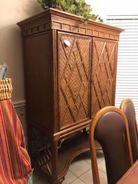 Bamboo cabinet  Dallas