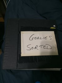 2 binders full of Goalie hockey cards Toronto, M4A