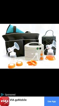 white and black electric breast pump San Antonio, 78213