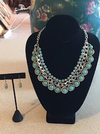 Jewelry Necklace and Earring Set Lansdowne