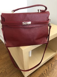 Italian leather women purse  Toronto, M2N 0C8