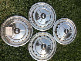 55-57 Chevy Wheel covers ( hub caps )