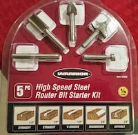 """Router bits  (1/4"""" shank)"""