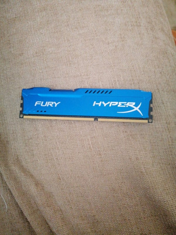 Hyper fury blue 4 GB ram 0