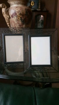 2 black stained glass picture frames Vaughan, L4H 1V7