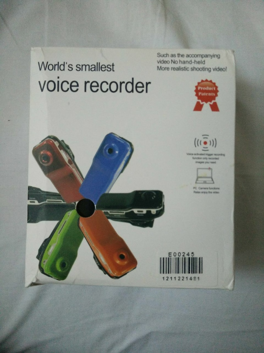 Used, World's Smallest Voice Recorder box for sale  Markham