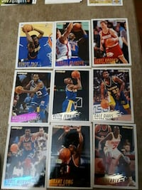 NBA fleer 94-95 (77 cards) West Babylon