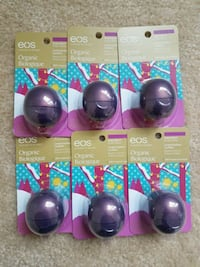 6 new EOS lip balms for $10. Price is not negotiable. Rockville
