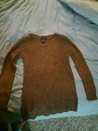 Gold and brown grunge knit Lynnwood, 98037