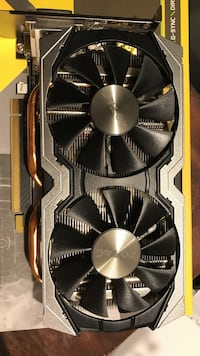 Used - GTX 1070 8GB - receipt and warranty available Oakville, L6L 2J4