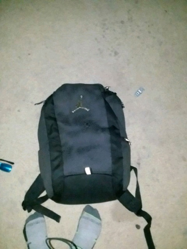 0f9f4b963082 Used black and gray Air Jordan backpack for sale in Lakeland - letgo