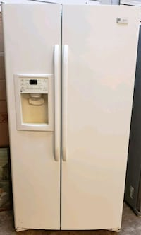 Bisque side-by-side refrigerator with dispenser Phoenix, 85019