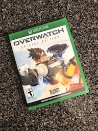 Overwatch xbox one game  Windsor Mill, 21244