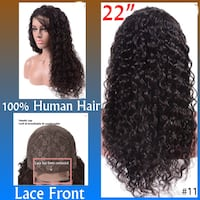 """New 22"""" 100% Human Hair Lace Front Wig (s11) Glenarden, 20706"""