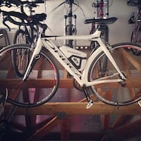 White and black road bike El Paso, 79925