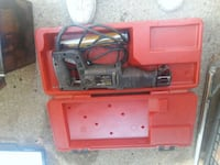 red and black corded power tool Lone Jack