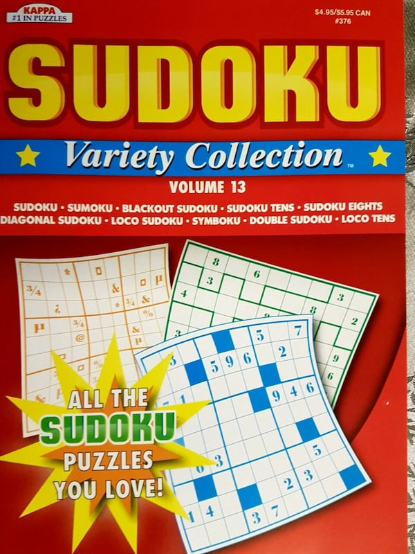 Sudoku and Super Sudoku books - price for both  09c4bb51-33a4-435d-95a0-207640ceb87b