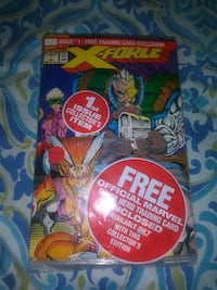 X-FORCE 1ST ISSUE COLLECTORS ITEM