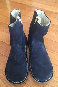 Suede blue boots Boden size 2 Herndon, 20171