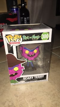 Rick and Morty Scary Terry 300 Pop! Vinyl Los Angeles, 90003