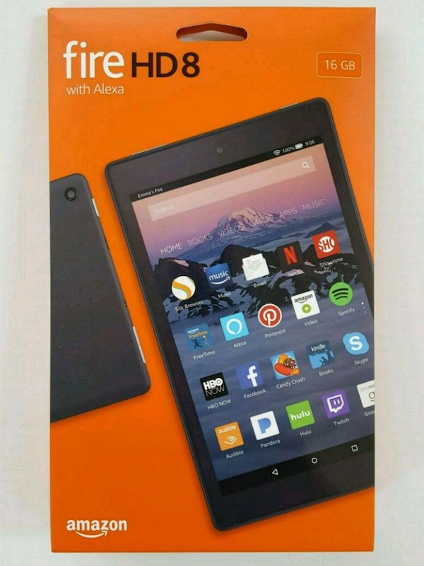 9e1f234caa39 Used NEW Amazon Fire HD 8 Tablet with Alexa for sale in Washington ...