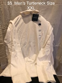 white button-up long sleeve shirt Gaithersburg, 20879