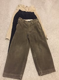 Boys corduroy pants. size 5.   $3 each  Woodbridge, 22193