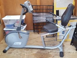 Nautilus R514 Recumbent Exercise Bike - no pedals