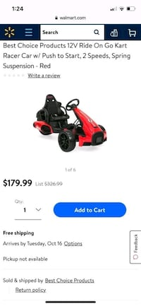 red and black Troy-Bilt push mower screenshot Richmond