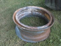 Tractor rim, fire ring