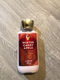 Brand New Bath And Body Works Body Lotion - Winter Candy Apple