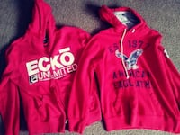 Ecko and American Eagle Hoodies Stanton, 79782