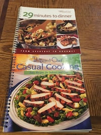 2 Pampered Chef cook books  London, N6H 5A7