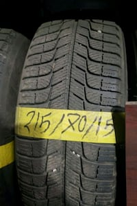 215 / 70  / 15 winter tires with installation
