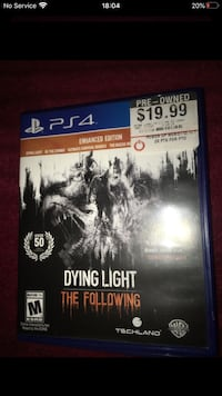 Dying Light Enhanced Vesion ps4 game