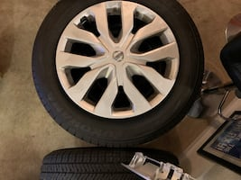 """New tires. Fore sale or trade my 17"""" tires for 18"""" tires"""