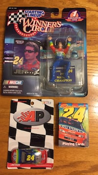 Jeff Gordon memorabilia 295 mi