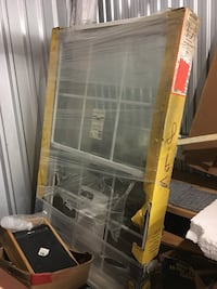 Pella double hung air gone gas glass with grids  Rockville, 20850