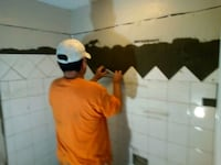 Tile work and bathroom renovation. Knightdale
