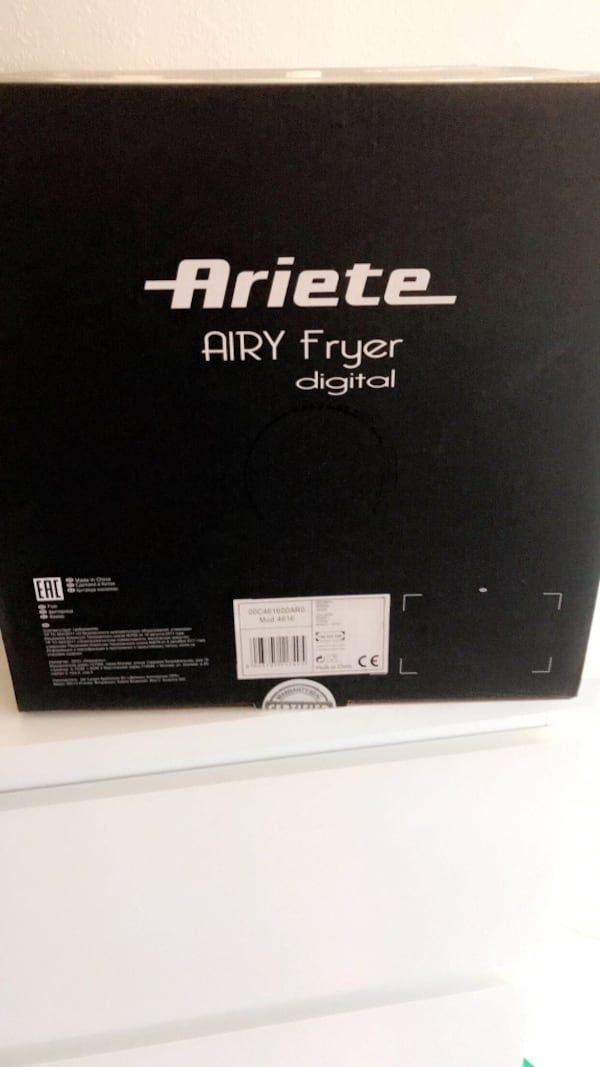 Air fryer ae7468fa-d4c9-4e13-9ecc-def68f166e30