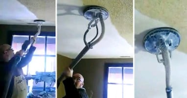 Stucco and popcorn ceiling removal Ottawa area